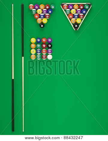 Elements of billiard balls