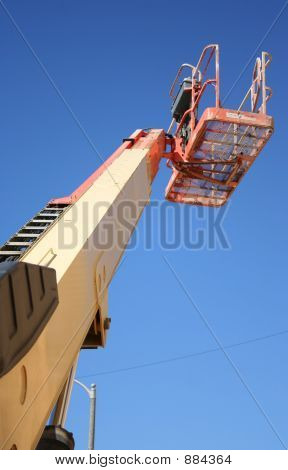Cherry Picker From Below