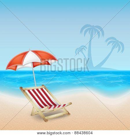 Tropical sea and beach
