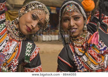 Rajasthani-Tänzer