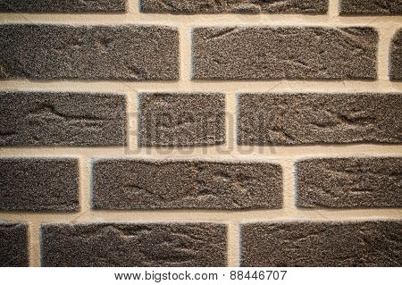 Brown Old Brick Wall Background Texture