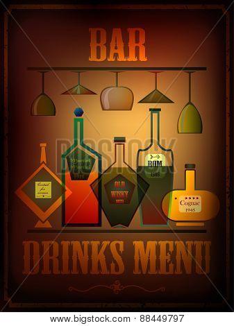 Drinks Menu Card