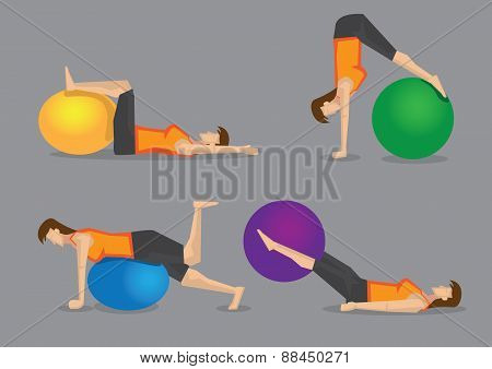 Core Strengthening Workout With Gym Ball