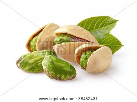 Pistachio in closeup