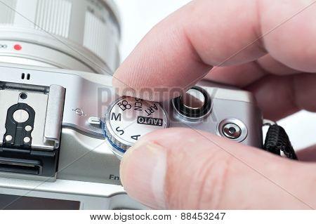 Choosing a camera mode