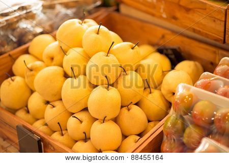 Chinese pears