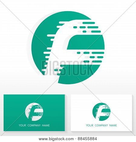 Letter F logo icon design template elements - Illustration