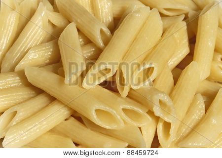 Boiled Pasta Close Up