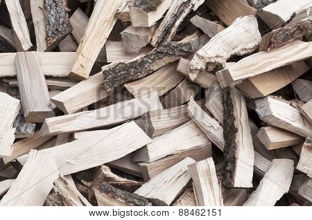 Background Of The Chopped Firewood