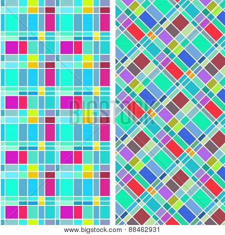 colorful rectangle pattern