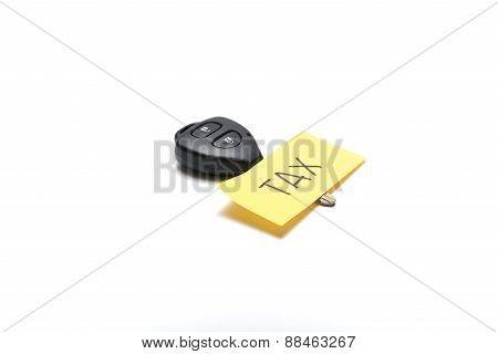 Car Key Tag Tax