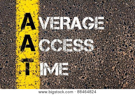 Business Acronym Aat As Average Access Time
