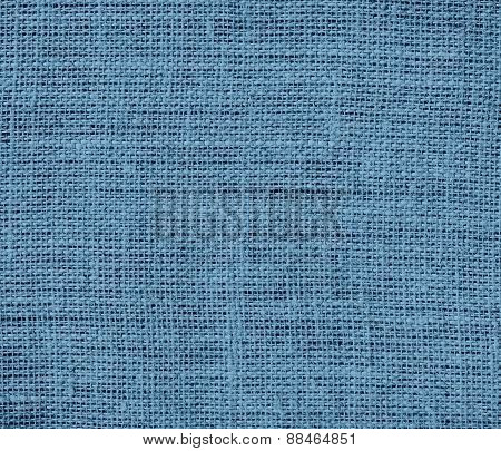 Burlap air force blue (raf) texture background