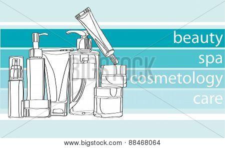 Series care cosmetics