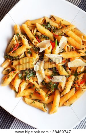 Penne With Herbs