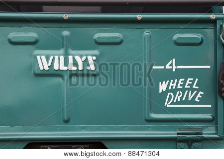 1965 Willys Jeep Close Up