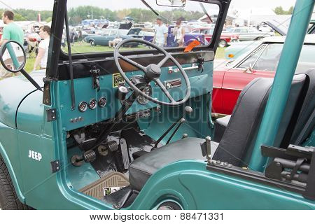 1965 Willys Jeep Interior