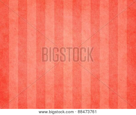 Red Striped Vintage Paper