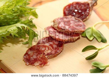 Sausage Slices From A Kangaroo