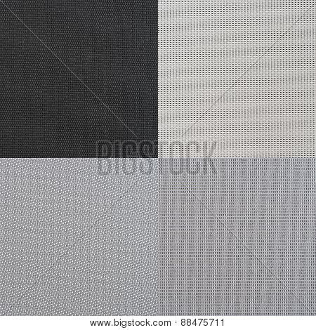 Set Of Grey Vinyl Samples