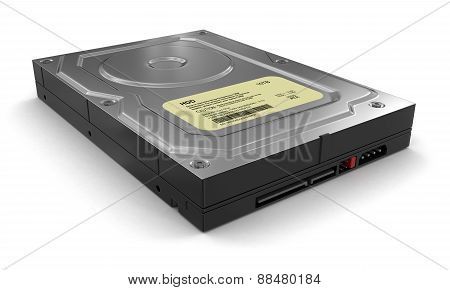 Hard Drive (clipping path included)