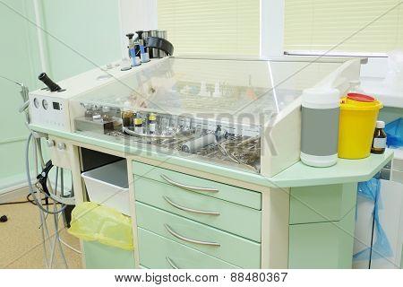 Otolaryngologist instrument.