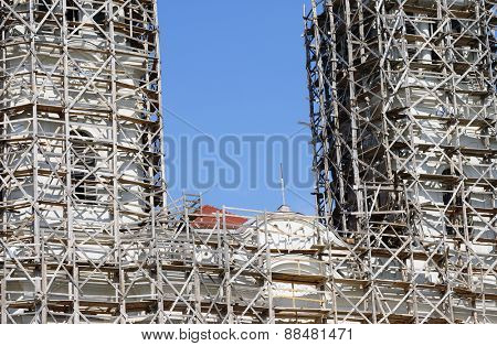 Catholic monastery rconstruction