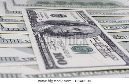 US dollars, banknotes