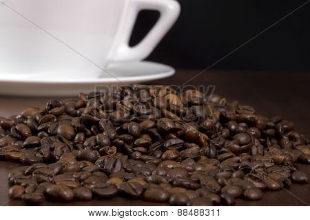 Coffee crop and cup