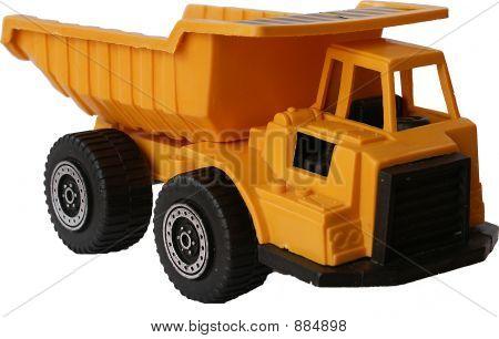 Gelbe Spielzeugauto