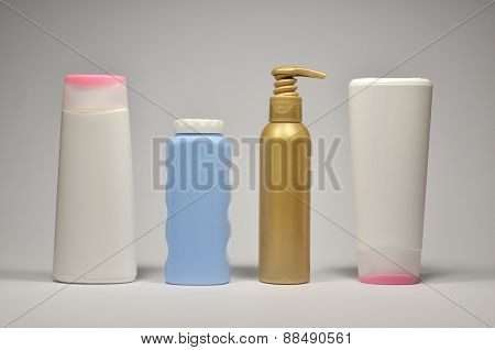 Different Cosmetic Containers