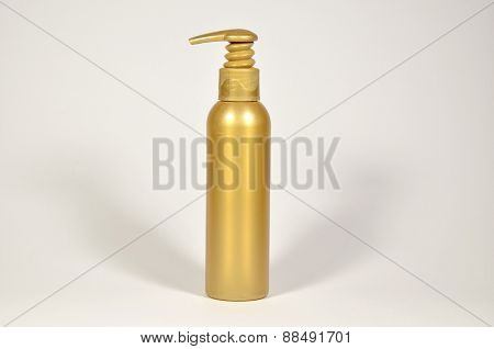 Golden Color Container