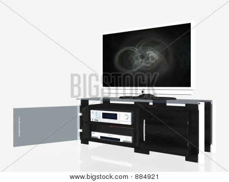Media Center, Plasma Screen