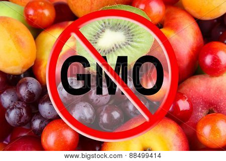 Fresh fruits without gmo