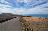 picture of canary-islands  - Volcanic landscape of the island of Lanzarote Canary Islands Spain - JPG