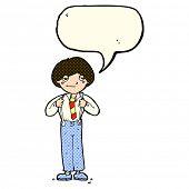 picture of braces  - cartoon man wearing braces with speech bubble - JPG