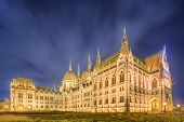 pic of hungarian  - View of hungarian Parliament building at Budapest - JPG