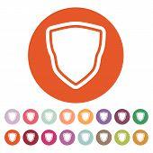 pic of shield  - The shield icon - JPG