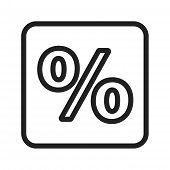 stock photo of fraction  - Percentage - JPG