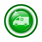 image of ambulance  - Ambulance icon - JPG
