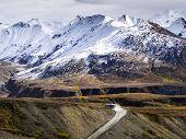 foto of denali national park  - Alaska Denali Highway  - JPG