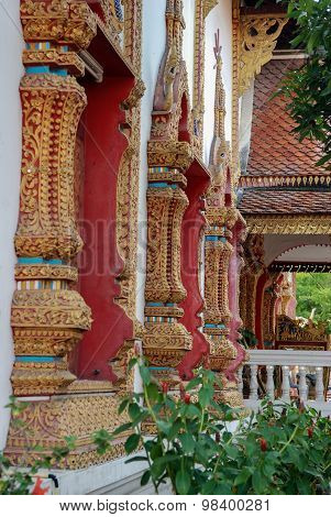 Old Buddhist Temple In Thailand
