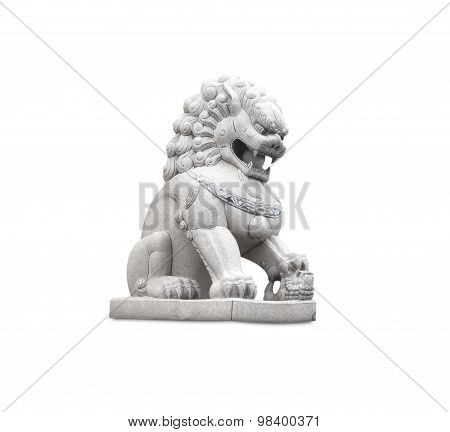 Stone Carving Lions