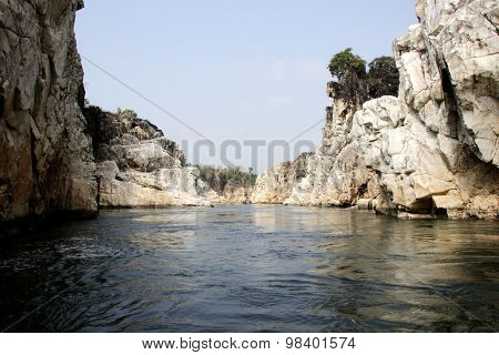 Rocky Banks Of Narmada