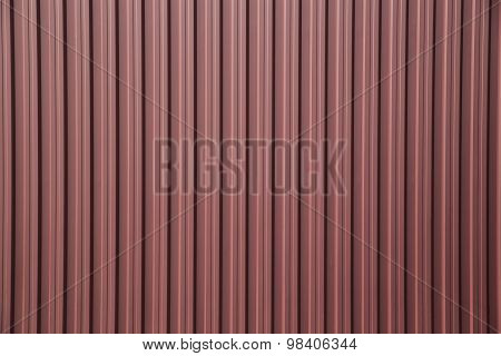 Corrugated Metal Fence As A Background