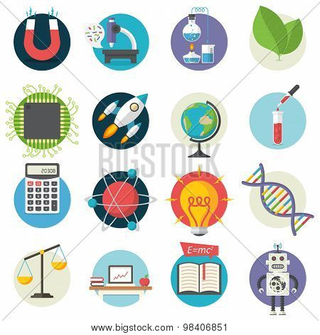 Science, Illustration Series