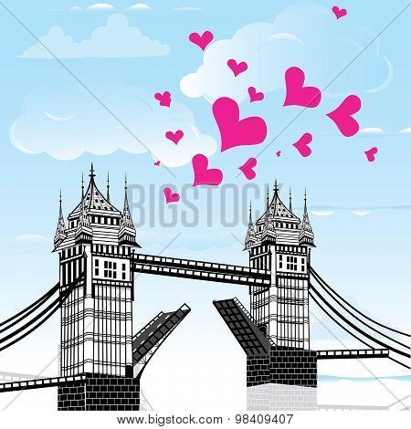 Tower Bridge, London Vector