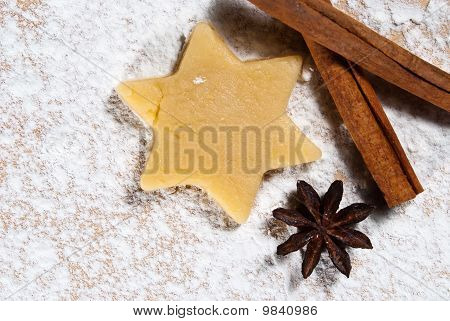 Star With Cinnamon Sticks And Star Anise V3