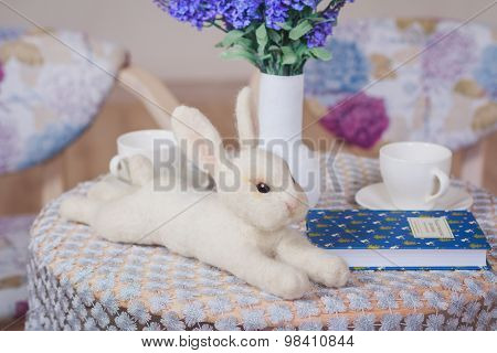 Fluffly Rabbit Toy
