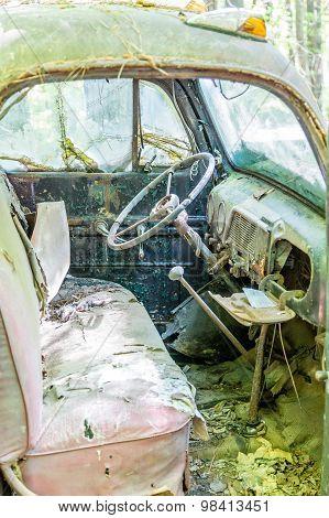 Destroyed Interior